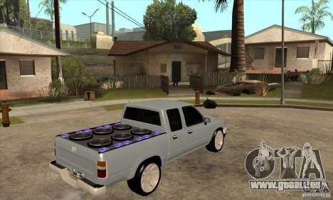 Toyota Hilux Surf v2.0 für GTA San Andreas rechten Ansicht