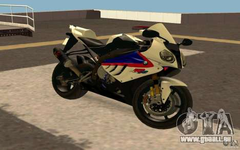 BMW S1000RR City Version pour GTA San Andreas