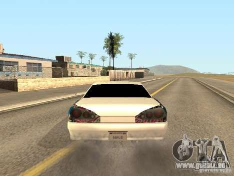 Elégie de Foresto_O pour GTA San Andreas vue de côté