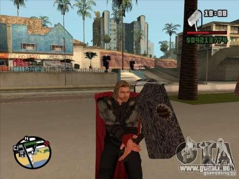 Thor pour GTA San Andreas troisième écran