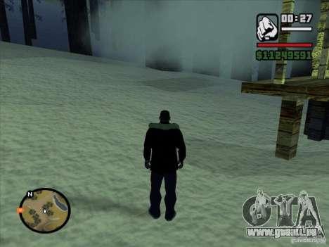 GhostCar pour GTA San Andreas troisième écran