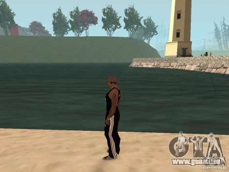 Choisissez n'importe quel temps pour GTA San Andreas quatrième écran