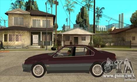 Alfa Romeo 164 3.0 V6 1987 pour GTA San Andreas laissé vue