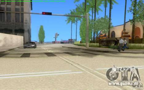 Routes en béton de Los Santos Beta pour GTA San Andreas neuvième écran