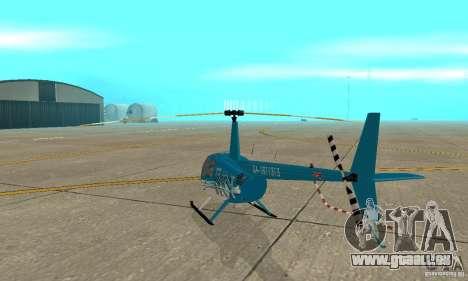 Robinson R44 Raven II-NC 1.0-TV für GTA San Andreas rechten Ansicht