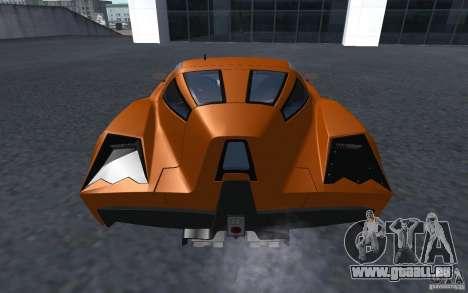 Spada Codatronca TS Concept 2008 pour GTA San Andreas laissé vue