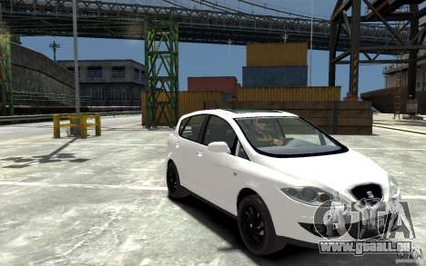 Seat Toledo pour GTA 4 Vue arrière