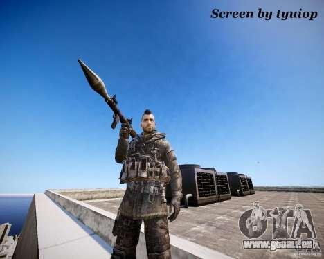 Modern Warfare 3 Soap Europe pour GTA 4