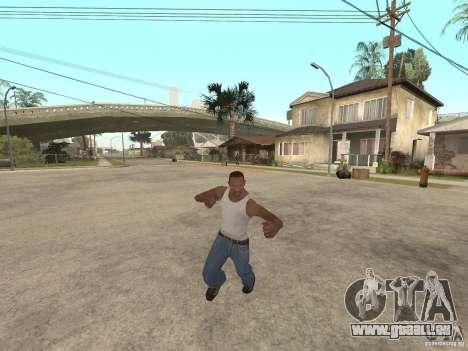 Awesome .IFP V3 für GTA San Andreas achten Screenshot