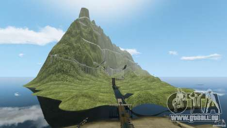 MG Downhill Map V1.0 [Beta] pour GTA 4