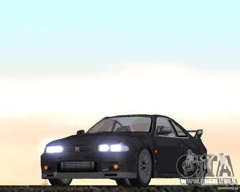 Nissan Skyline GT-R R-33 für GTA San Andreas