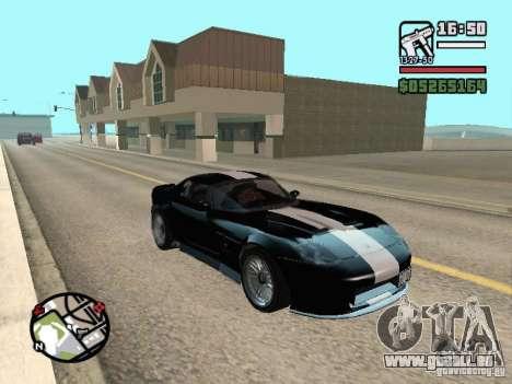 Banshee von GTA IV für GTA San Andreas