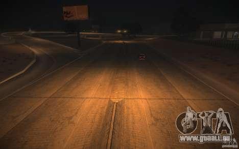 Route de HD v 2.0 finale pour GTA San Andreas huitième écran
