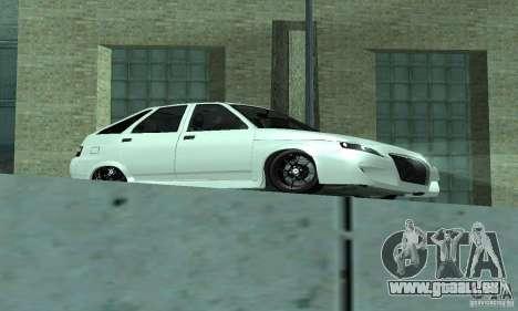 VAZ-2112 voiture Tuning pour GTA San Andreas laissé vue