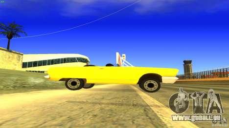 Crazy Taxi - B.D.Joe für GTA San Andreas linke Ansicht