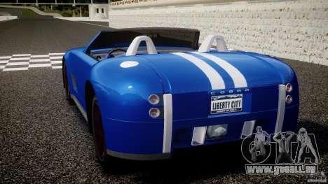 Ford Shelby Cobra Concept pour GTA 4 Vue arrière de la gauche
