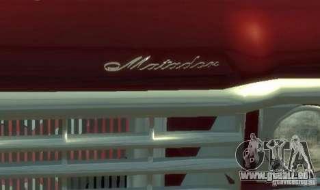 AMC Matador für GTA 4 obere Ansicht