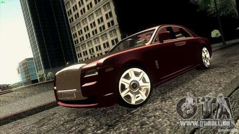 Rolls-Royce Ghost 2010 V1.0 pour GTA San Andreas