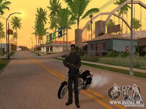 Terminator pour GTA San Andreas deuxième écran