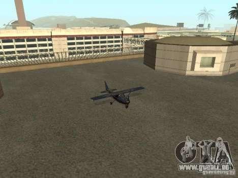 Ein neues Flugzeug-Dodo für GTA San Andreas Innenansicht