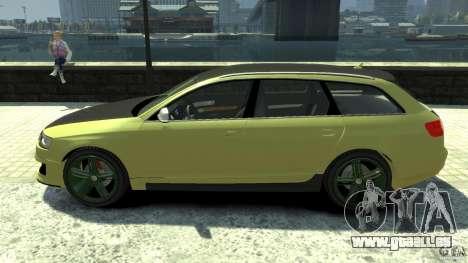 Audi RS6 Avant 2010 Carbon Edition pour GTA 4 est une gauche