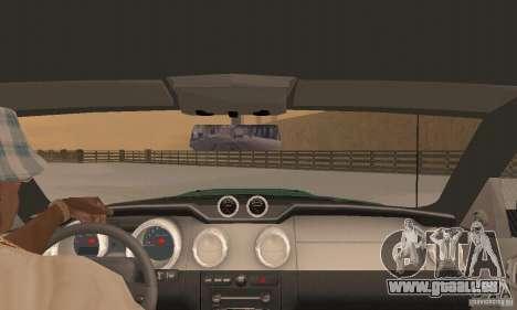 Saleen S281 v2 pour GTA San Andreas vue de côté
