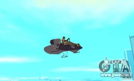 Flying Fish pour GTA San Andreas vue arrière
