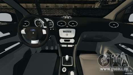 Ford Focus RS für GTA 4 Rückansicht