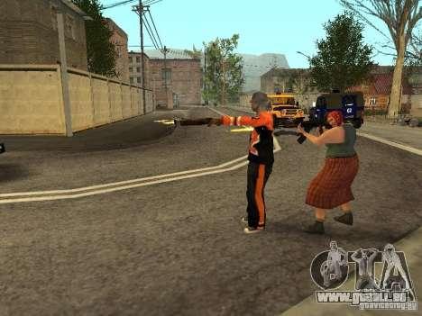 Jede Gruppe von Player 3.0 für GTA San Andreas dritten Screenshot