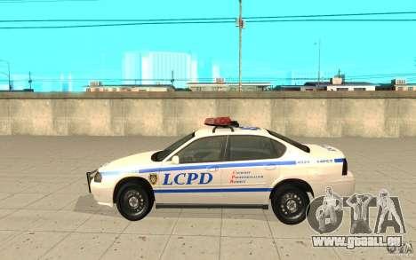 Patrouille de la police de GTA 4 pour GTA San Andreas laissé vue