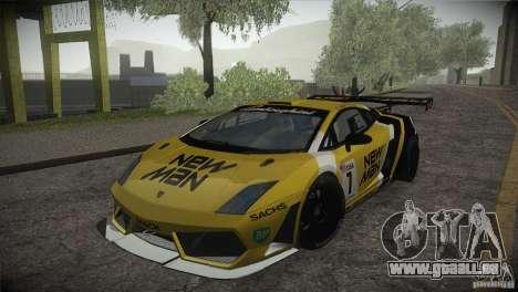 Lamborghini Gallardo LP560-4 GT3 pour GTA San Andreas