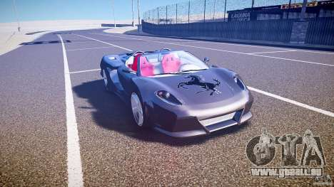 Ferrari F430 Extreme Tuning pour GTA 4 est une vue de l'intérieur