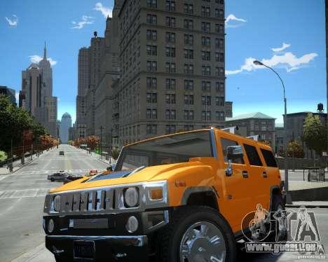 Hummer H2 2010 Limited Edition pour GTA 4 est une gauche