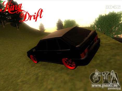 ВАЗ 2114 diable Style pour GTA San Andreas laissé vue