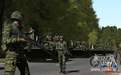 Une peau de soldat russe pour GTA San Andreas troisième écran