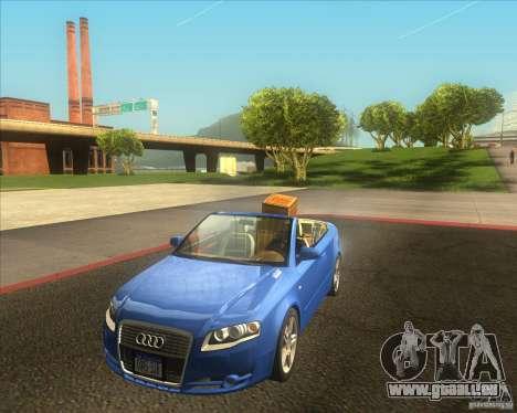 Audi A4 Convertible 2005 pour GTA San Andreas