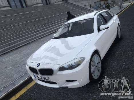BMW M5 F11 Touring V.2.0 pour GTA 4 est une gauche