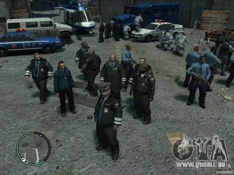 Russian Cops pour GTA 4