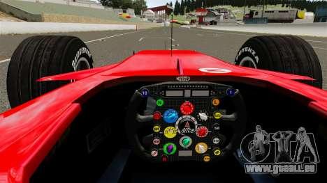 Ferrari F2008 für GTA 4 rechte Ansicht