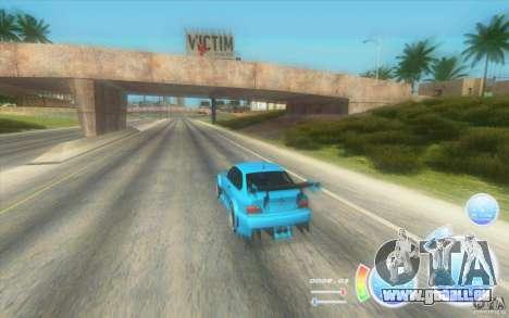 Compteur de vitesse CraZZZy v. diesel 2,2 + limi pour GTA San Andreas deuxième écran