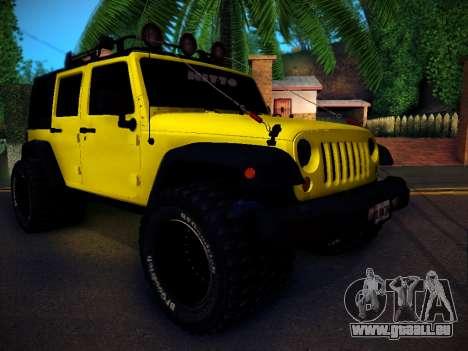 Jeep Wrangler 4x4 pour GTA San Andreas