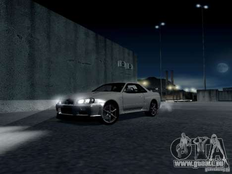 ENBSeries by Shake pour GTA San Andreas neuvième écran