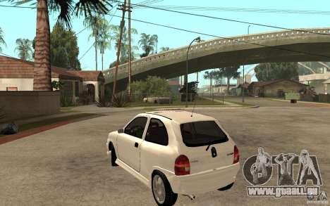 Opel Corsa GSI 16V pour GTA San Andreas sur la vue arrière gauche