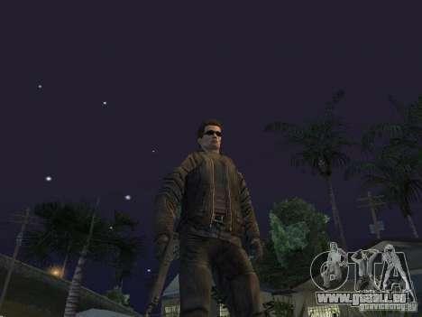 Terminator pour GTA San Andreas troisième écran