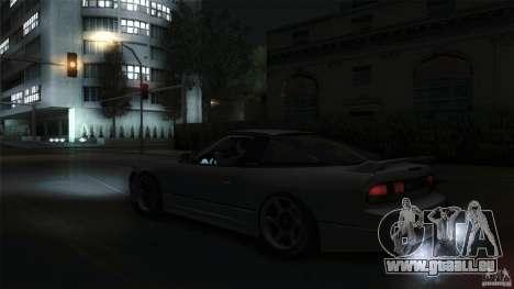 Nissan 240SX S13 Drift Alliance für GTA San Andreas rechten Ansicht