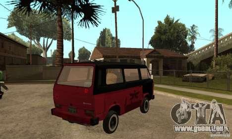 Volkswagen T3 Rusty für GTA San Andreas rechten Ansicht