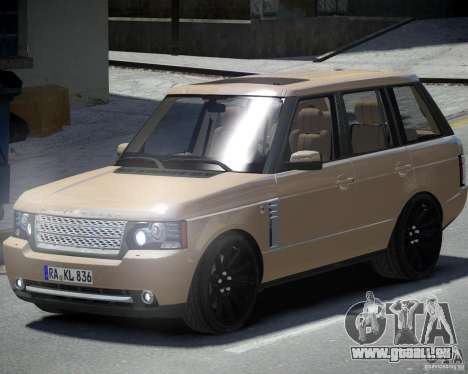 Land Rover SuperSharged pour GTA 4