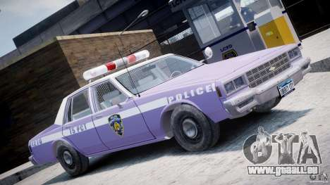 Chevrolet Impala Police 1983 v2.0 pour GTA 4