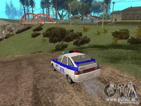 VAZ 21124 DPS pour GTA San Andreas vue de droite