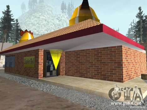 Geänderte Angel Pine village für GTA San Andreas